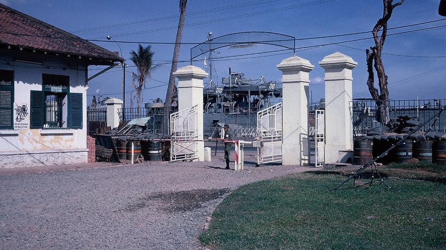 Sede de DARPA en Vietnam (Imagen: Cedida por Sharon Weinberger)