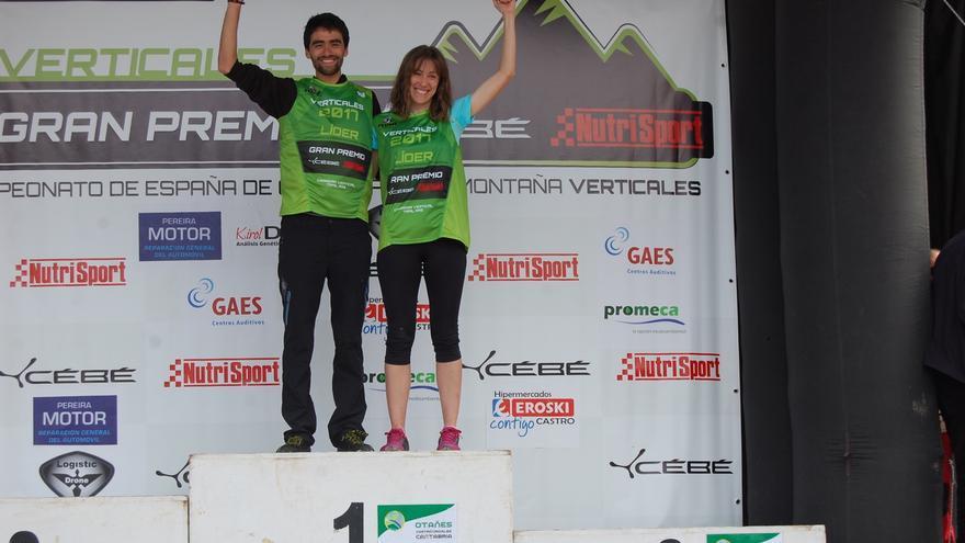 Joseba Díaz y Virginia Pérez.