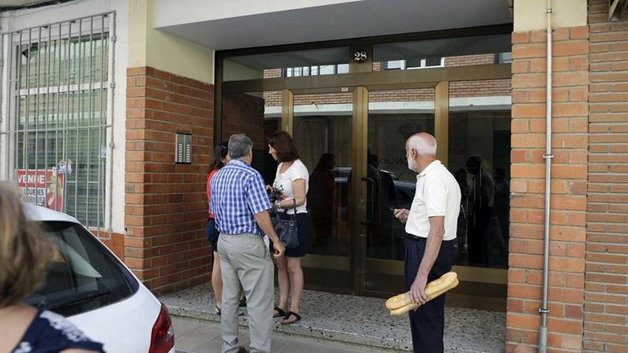 La mujer muerta apuñalada en Burgos se divorció hace poco de su asesino