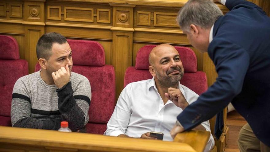 Podemos escenifica la ruptura con García-Page en el Debate de la Región