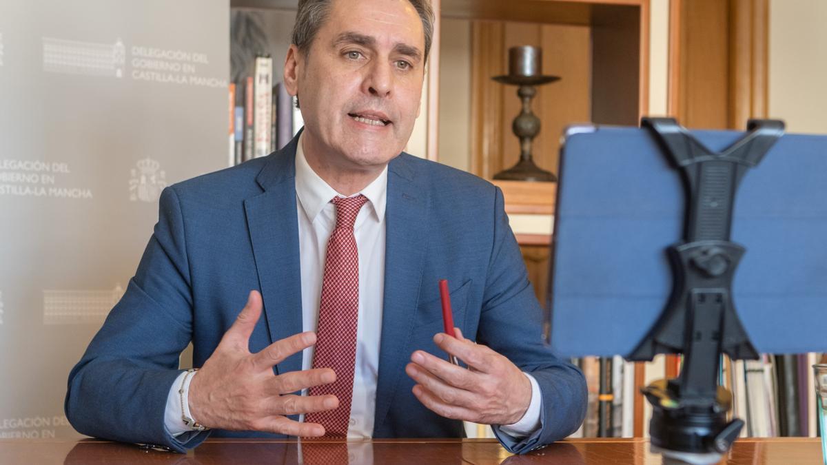 El delegado del Gobierno en Castilla-La Mancha, Francisco Tierraseca