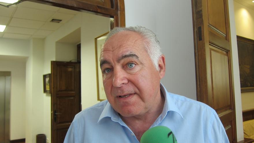 """Pedro Acedo (PP) no sabe """"todavía"""" si va a seguir en la oposición durante la próxima legislatura en Mérida"""