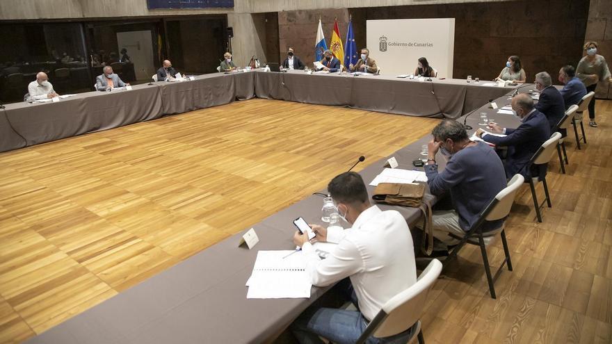 El Gobierno canario logra un amplio consenso en torno a la redacción del Plan para la Reactivación Social y Económica por la crisis de la Covid-19