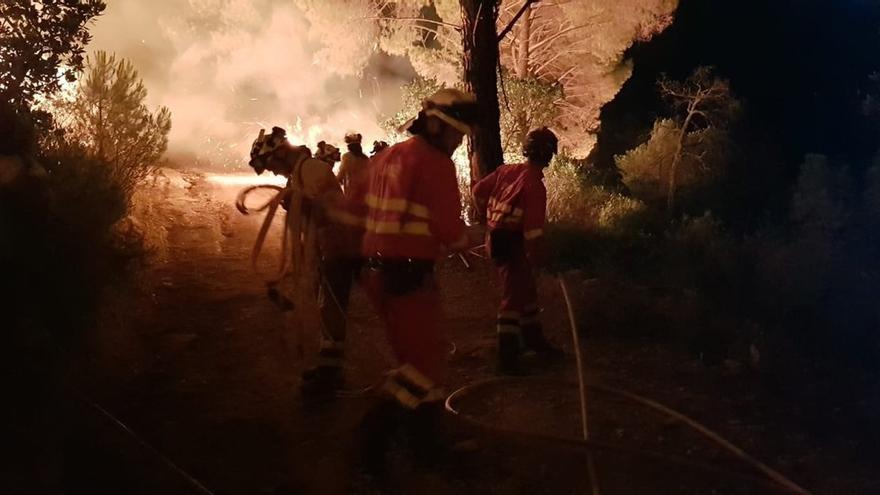 La Dirección de Extinción da por estabilizado el incendio forestal de Nerva