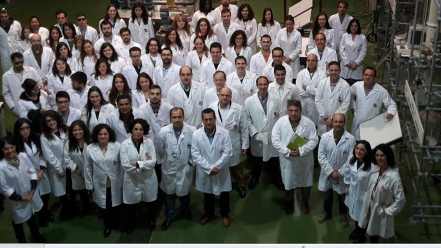 Alumnos de ingeniería química de la UCLM
