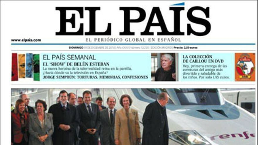 De las portadas del día (19/12/2010) #6