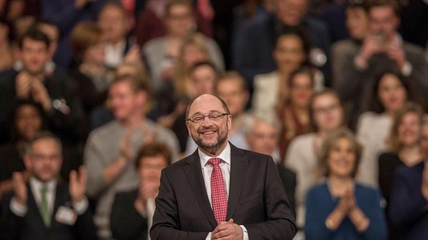 Schulz, elegido líder de los socialdemócratas alemanes con el 100 por cien de votos