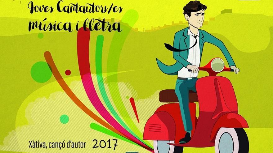 El cartel del concurso se inspira en la composición de Raimon de su canción emblema 'Al vent'