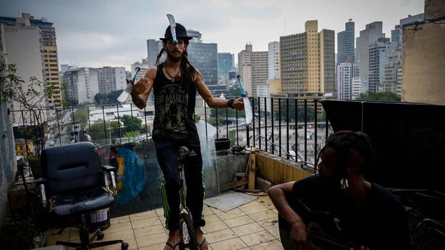 Ouvidor 63, okupas y arte en el corazón de Sao Paulo