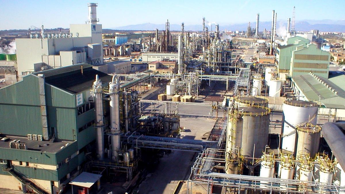 Planta de la química Ercros en Tarragona