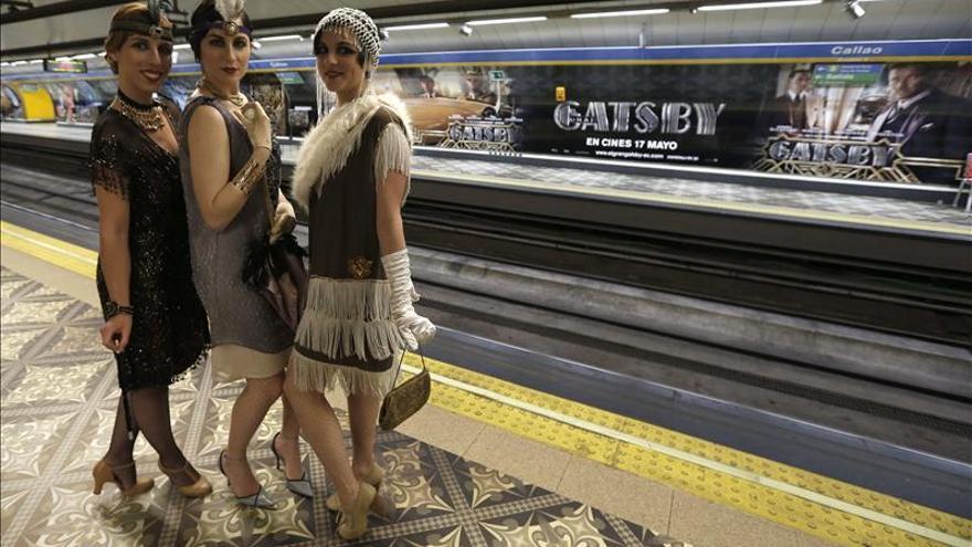 El Gran Gatsby aterriza en la estación de metro de Callao