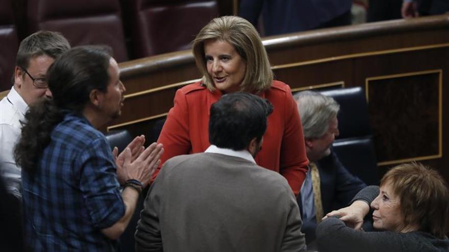 Iglesias espera continuidad de las políticas de Rajoy en el nuevo Gobierno
