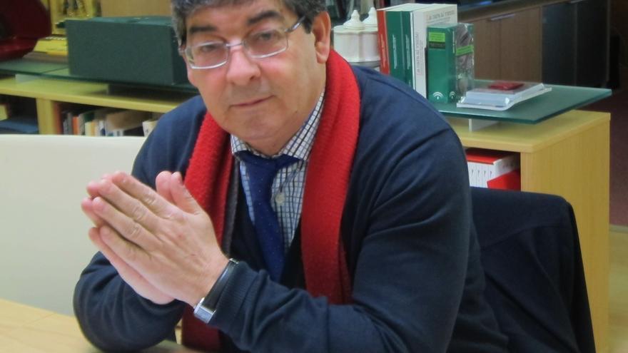 Valderas no vincula el cargo de coordinador general de IULV-CA con la candidatura a la Presidencia de la Junta