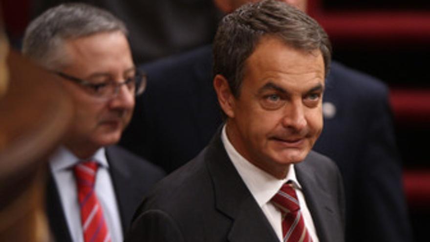 Presidente del Ejecutivo, José Luis Rodríguez Zapatero