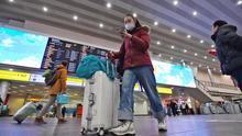 Aumenta el control sanitario y de cuarentena en el aeropuerto de Sheremetyevo (Moscú) debido al brote de coronavirus en China.