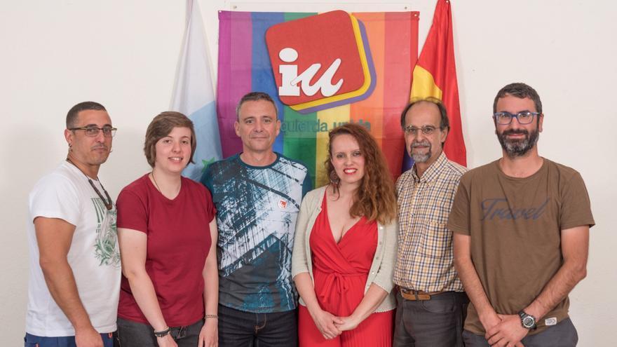 Integrantes de la lista de IUC que concurrirá a los comicios locales en Los Realejos