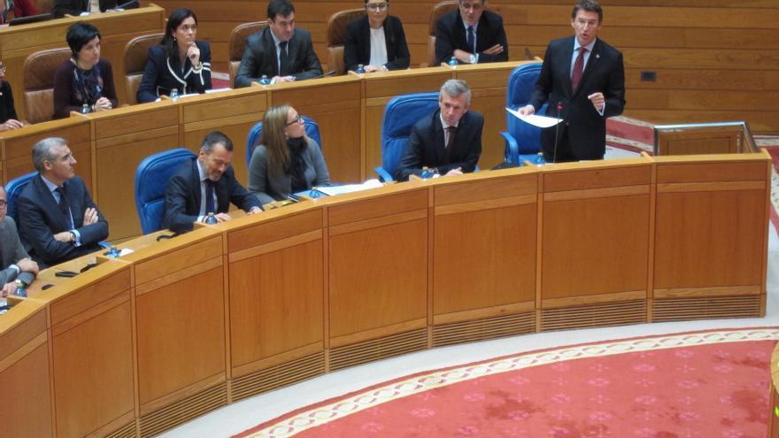 Feijóo ratifica que la Xunta mantendrá el complemento de 206 euros a las pensiones no contributivas