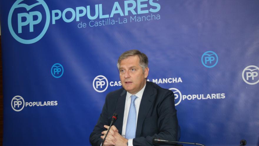 Francisco Cañizares, portavoz 'popular' en las Cortes de Castilla-La Mancha