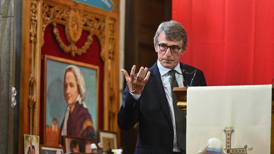 """Sassoli: sería """"irresponsable"""" no llegar a un acuerdo en el Consejo Europeo"""