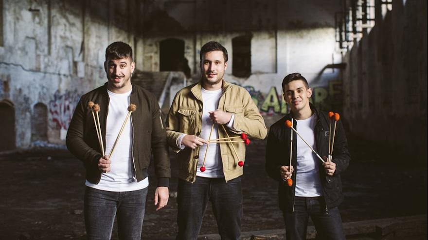 El grupo VAN3 Percussion.