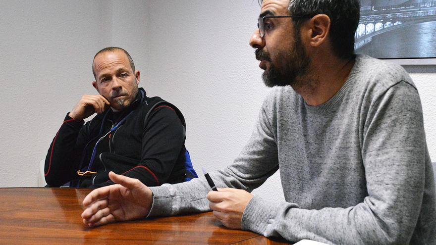 Tifas VH junto a Sergio Corro, de ACPP | ANDRÉS HERMOSA