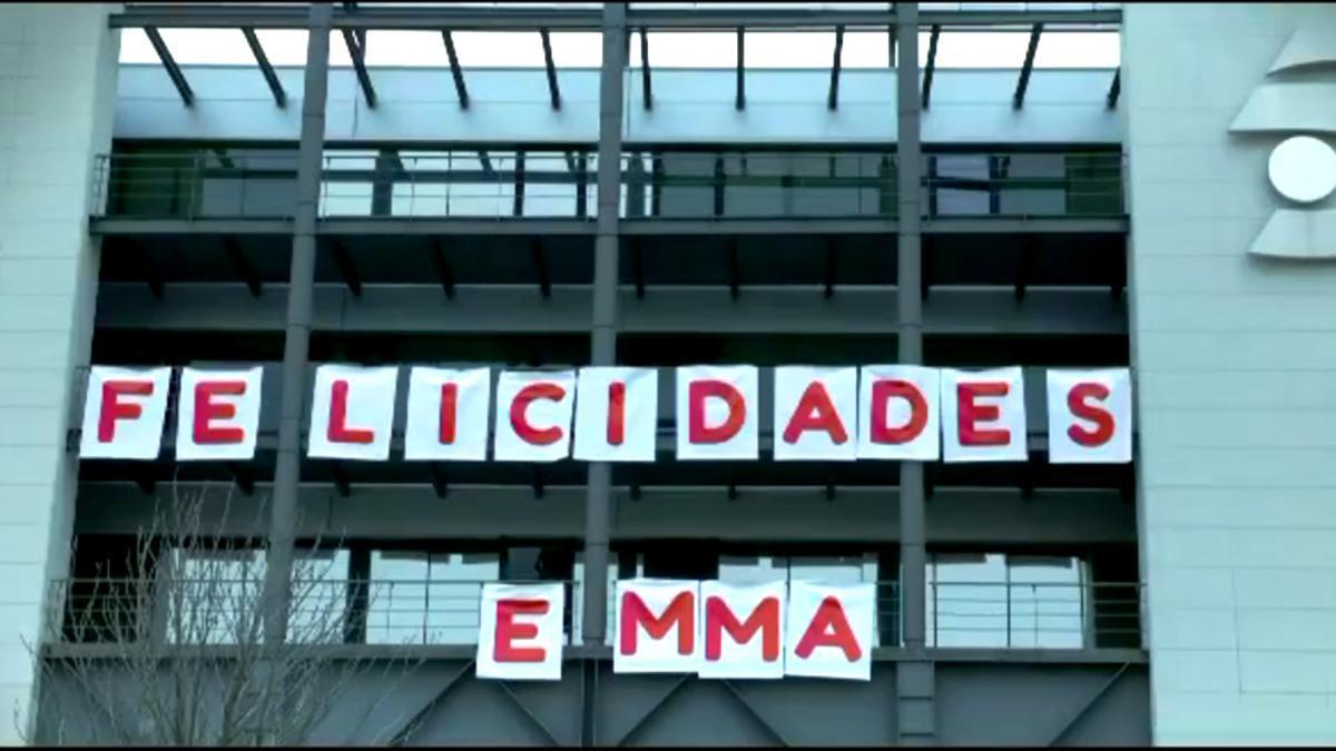 Sorpresa de 'Viva la vida' a Emma García