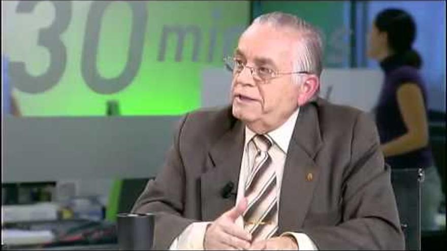 Leonardo Ruiz del Castillo, director de Cáritas Diocesana de Tenerife
