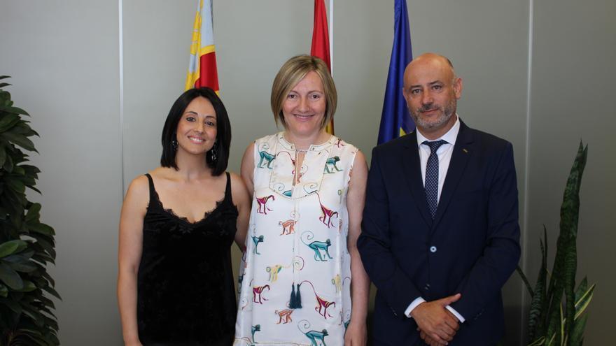 Rebeca Torró, María José Salvador y Rafael Briet