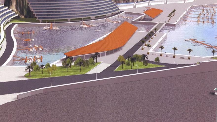 Proyecto planteado en el Puerto de Tazacorte