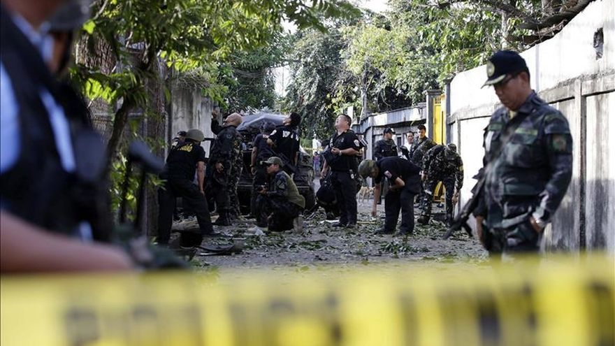 Al menos 18 heridos durante un ataque contra una mezquita del sur de Filipinas