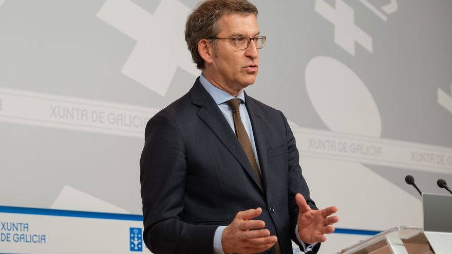 """La Xunta ya analiza qué vías legales permitirían aplazar unas elecciones que Feijóo ve """"secundarias"""""""