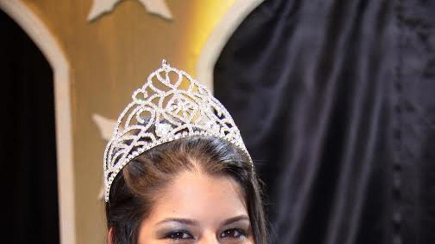 Imagen de archivo de Tania Barrera, Reina de La Bajada de 2010.
