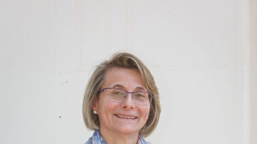 Eva Alcón, candidata a las elecciones al Rectorado de la UJI.