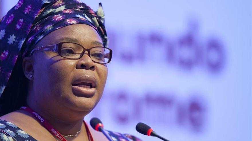 Leymah Gbowee cree imposible acabar con el hambre sin tener en cuenta la mujer