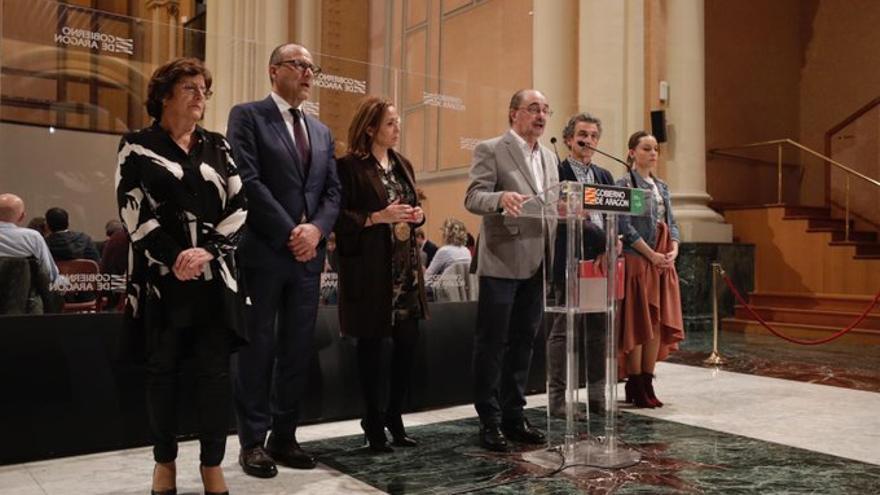 Lambán convocó el 12 de marzo una reunión con alcaldes y presidentes comarcales.