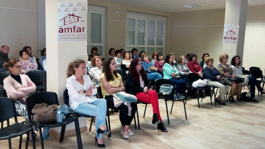 Uno de los actos organizados por AMFAR