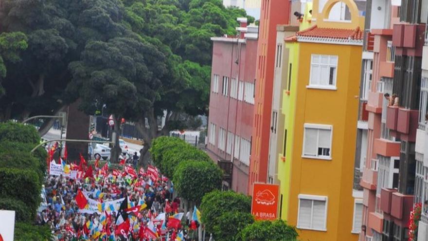 De la manifestación en LPGC #1