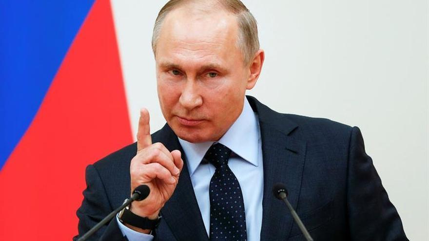 Putin, inscrito como candidato independiente para las presidenciales de marzo
