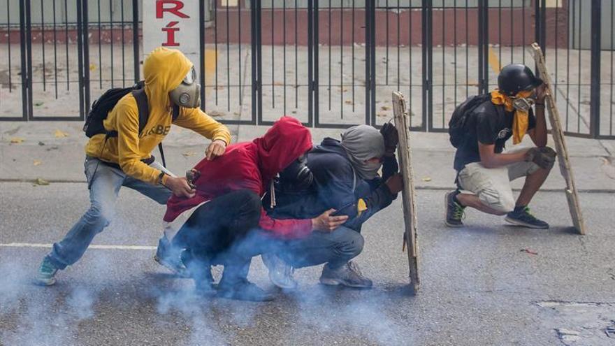 La oposición denuncia la muerte de un joven durante manifestación en Venezuela