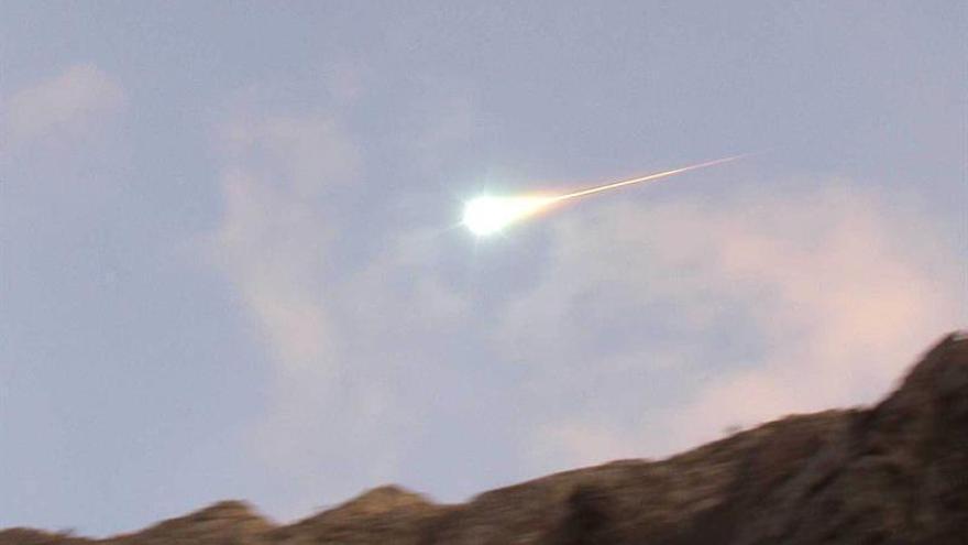 Cinco observatorios captan una bola de fuego en el centro y sur de España