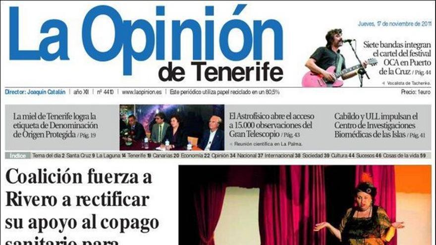 De las portadas del día (17/11/2011) #5