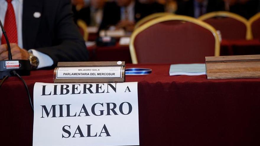 Un cruce de acusaciones aviva el debate por la detención de una diputada argentina del Parlasur