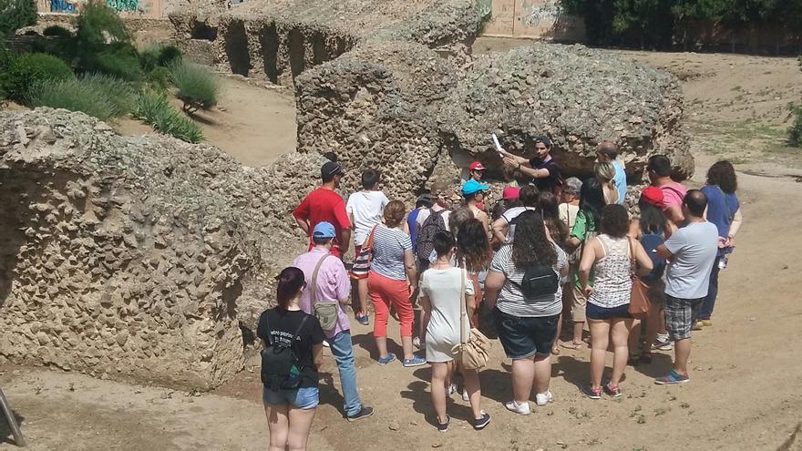 Una de las visitas al circo romano