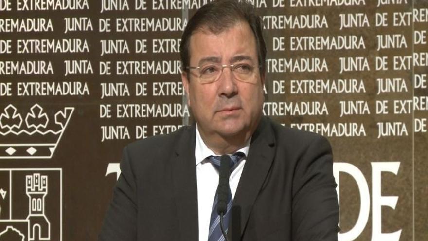 Guillermo Fernández Vara participa este lunes en los Desayunos Informativos de Europa Press en Madrid