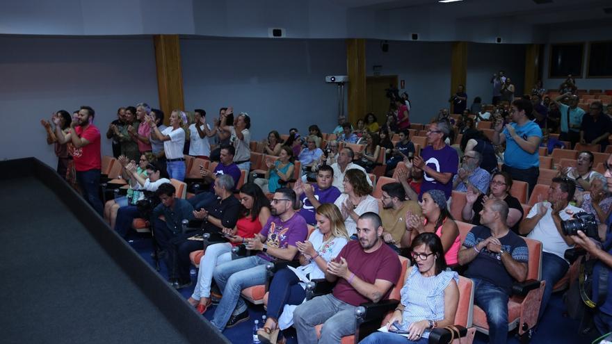 Asamblea de Podemos Canarias en Gran Canaria