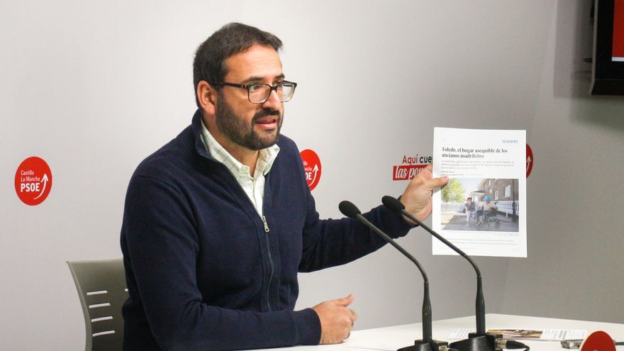 Sergio Gutiérrez (PSOE) en rueda de prensa