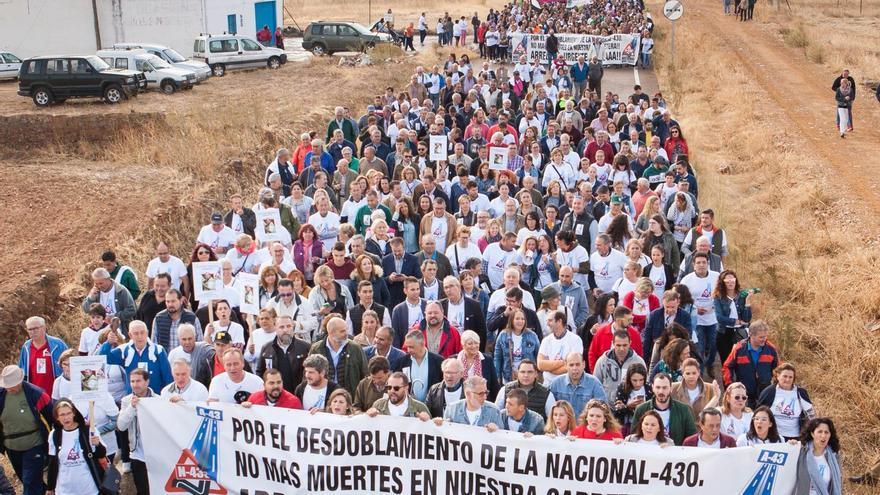N-430 manifestación