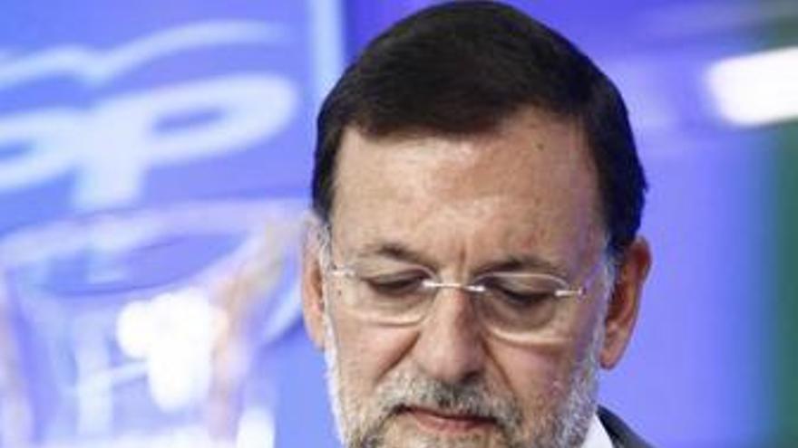 Rajoy, en la Junta directiva del PP