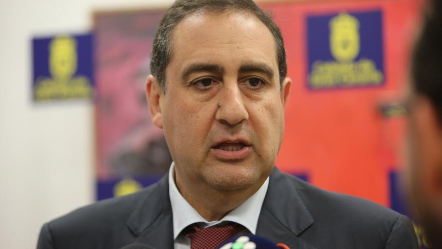 El portavoz del PP en el Cabildo de Gran Canaria, Felipe Afonso El Jaber,