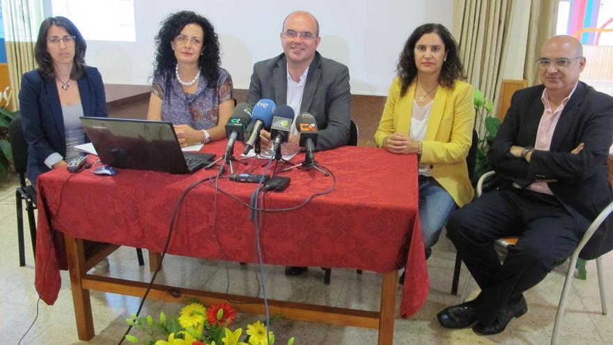 Acto de presentación del proyecto del geriátrico de Las Nieves.